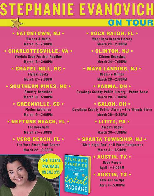 Stephanie Evanovich Book Tour