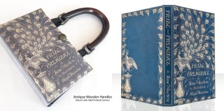 Pride & Prejudice Peacock Handbag and Kindle cover, prizes from The Darcy Monologues Blog Tour