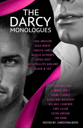 Book Cover: The Darcy Monologues, Edited by Christina Boyd