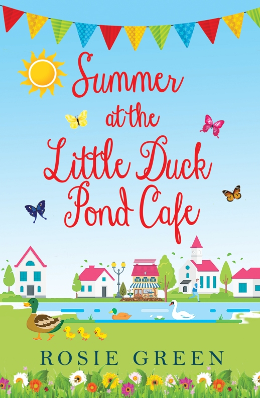 Summer at the Little Duck Pond Cafe Cover IMG_0565