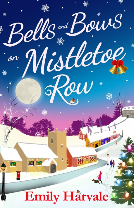 Bels and Bows on Mistletoe Row Cover